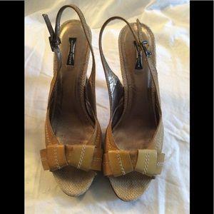 Nanette Lepore slingback heels
